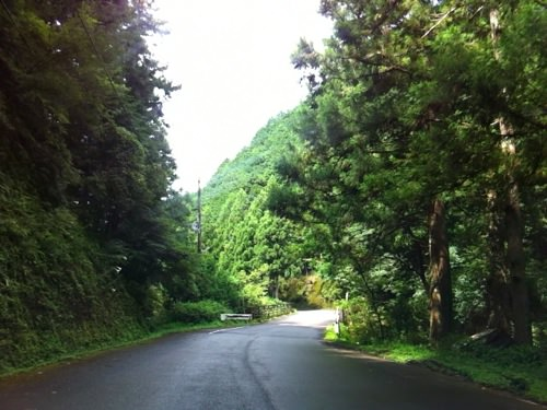 百間山渓谷