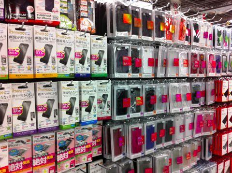 iPhone5ケースとフィルム