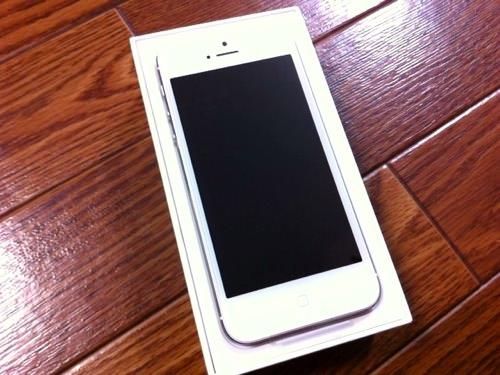 iPhone5ご対面