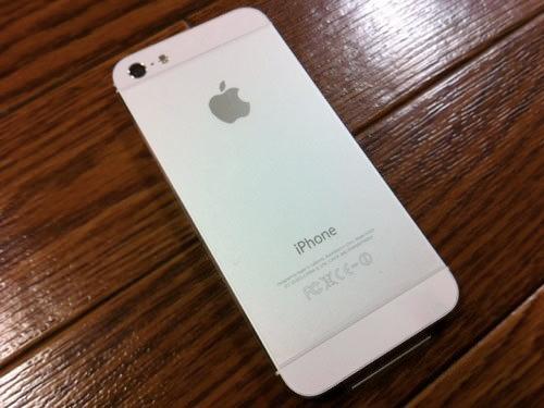 iPhone5背面