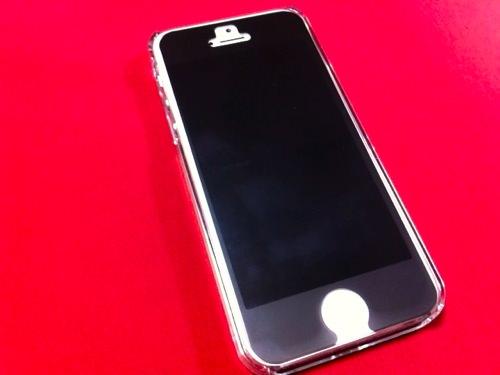 iPhone5とフィルム