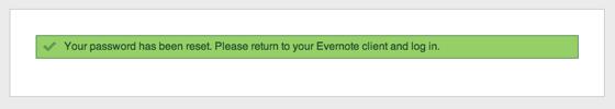 Evernote設定完了