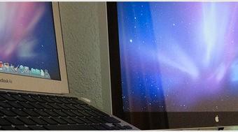 今更だけどクラムシェルモードでMacBookAirを外部出力。本当に便利なのね、驚きの快適さ