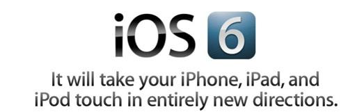 MacBookだけじゃなくてiOS6もありました。