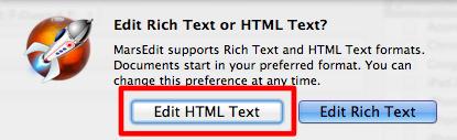 Edit HTML Text