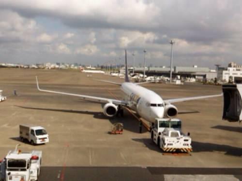 羽田空港から福岡へ