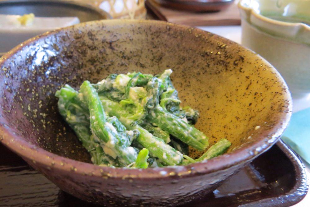 青菜の白和え