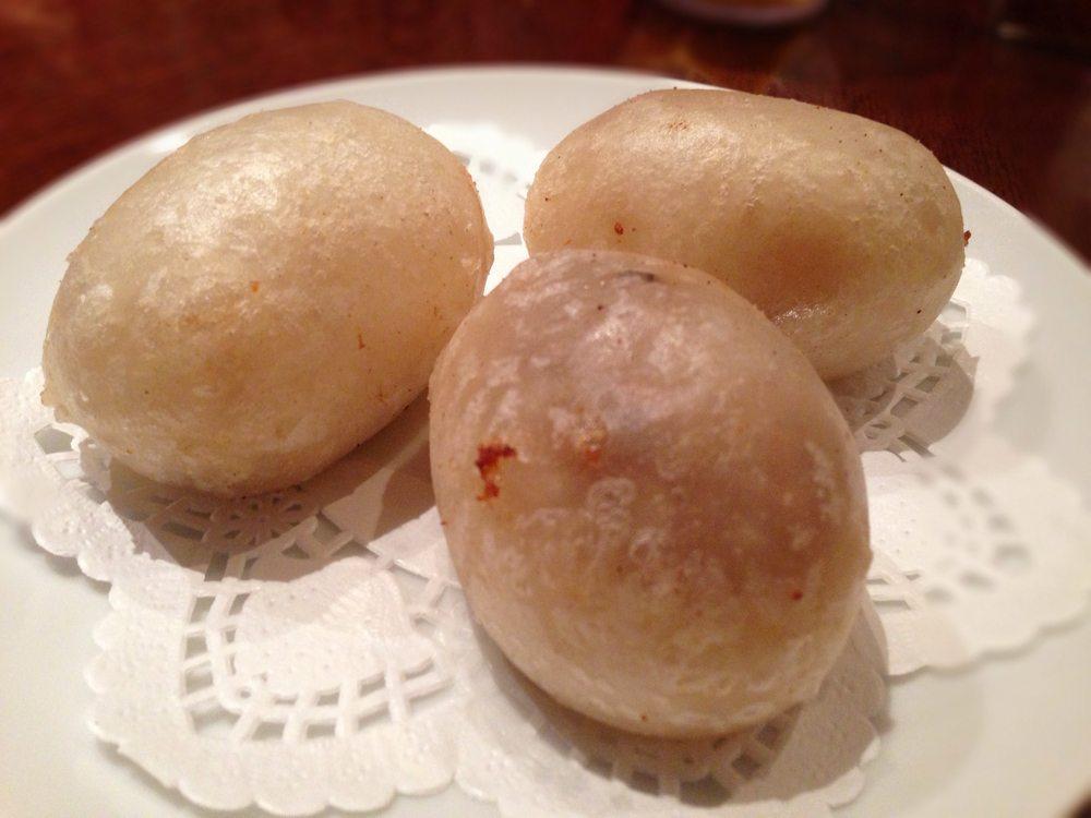 五目入りもち米の揚げ餃子