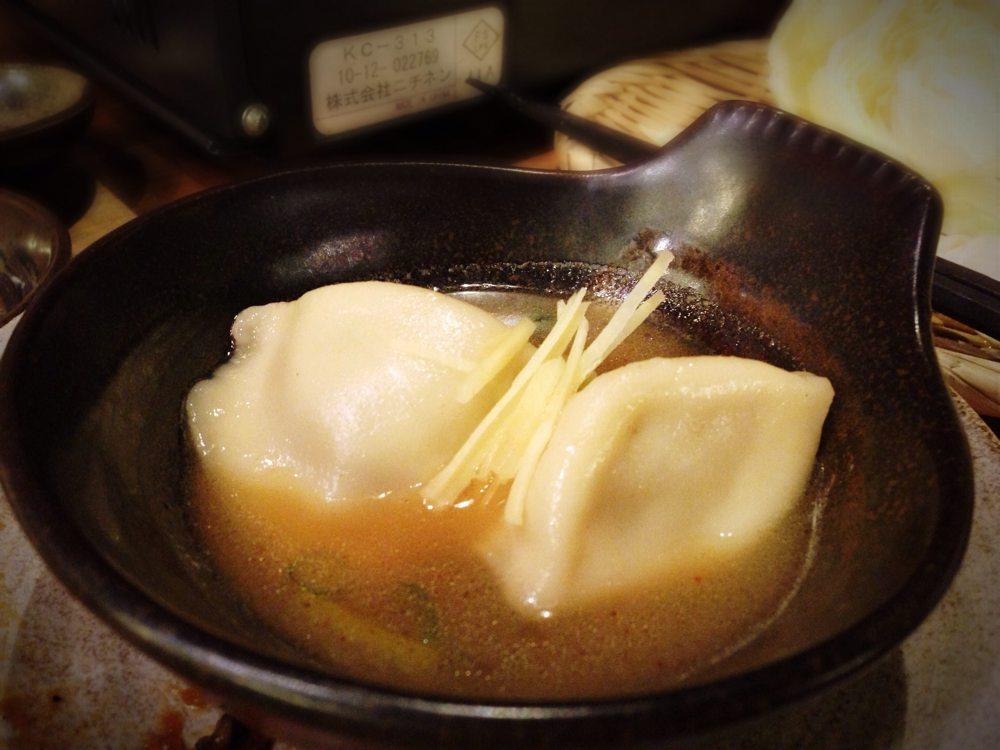 餃子なべ(炊き餃子)