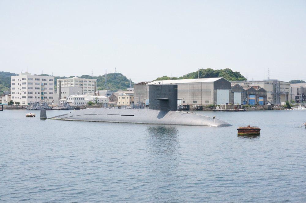 今や使われていない潜水艦