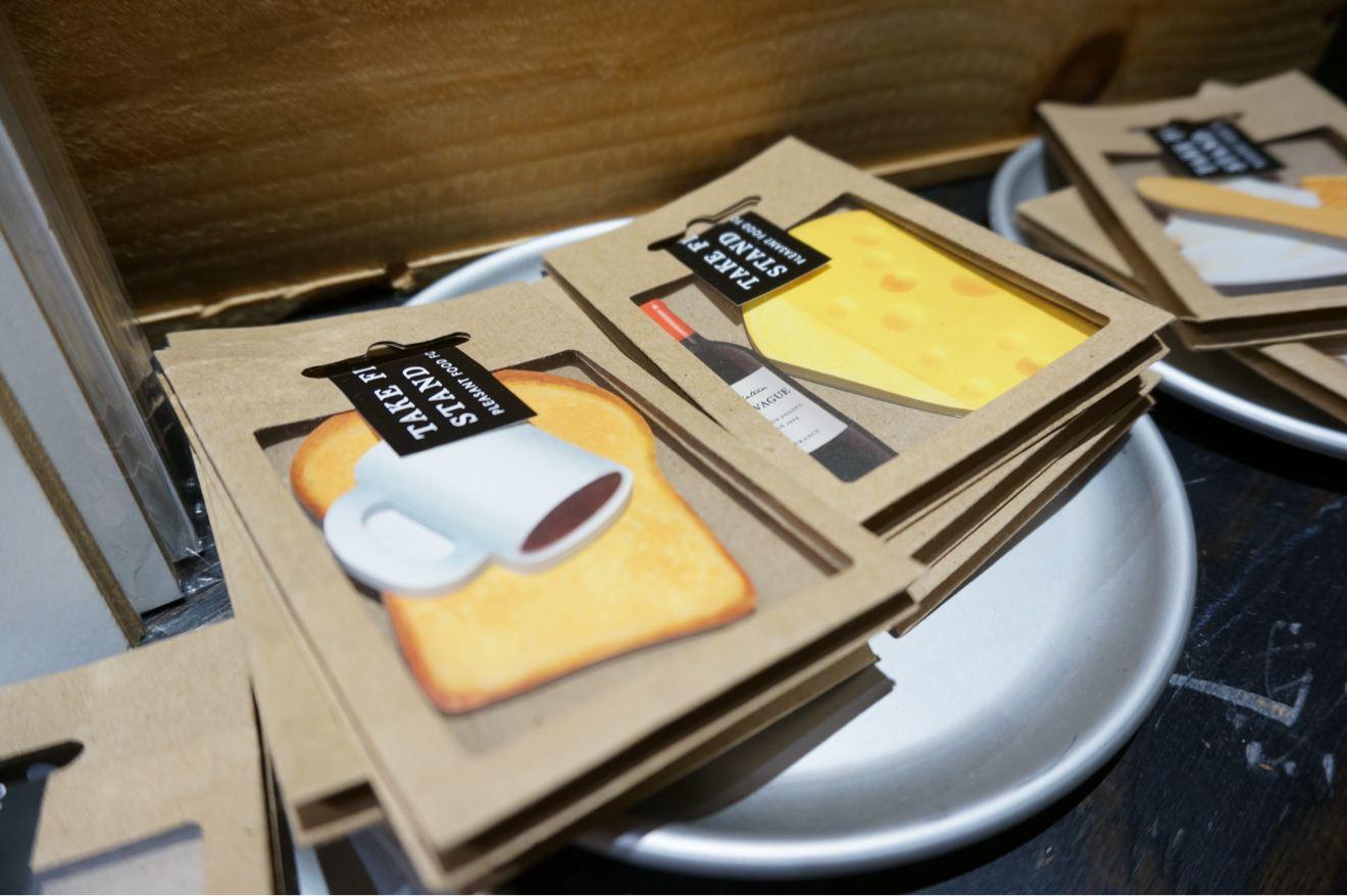 クッキー型のメモ帳