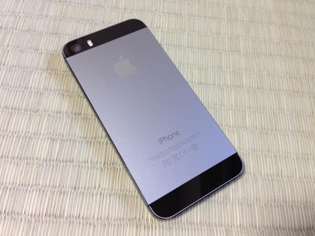 iPhone 5s 裏側