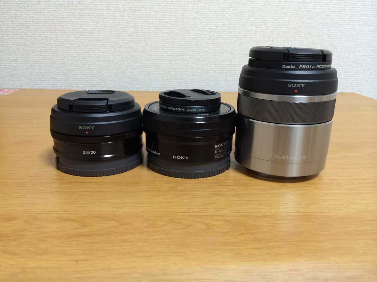 [Å] SONY NEX5R 単焦点「E 20mm F2.8 SEL20F28」を購入!薄くて軽くて持ち運びに最適!