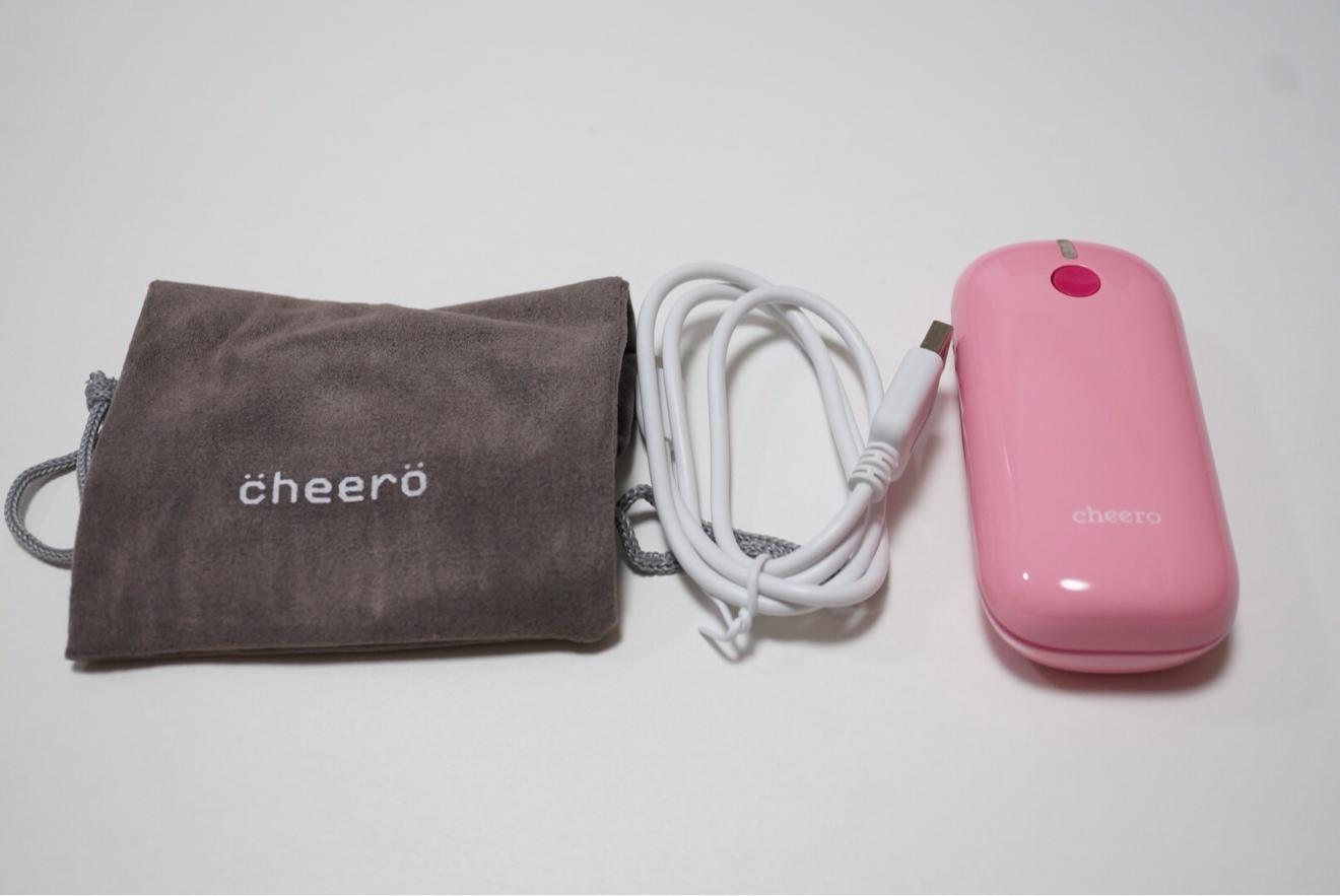 付属品とcheero Grip2
