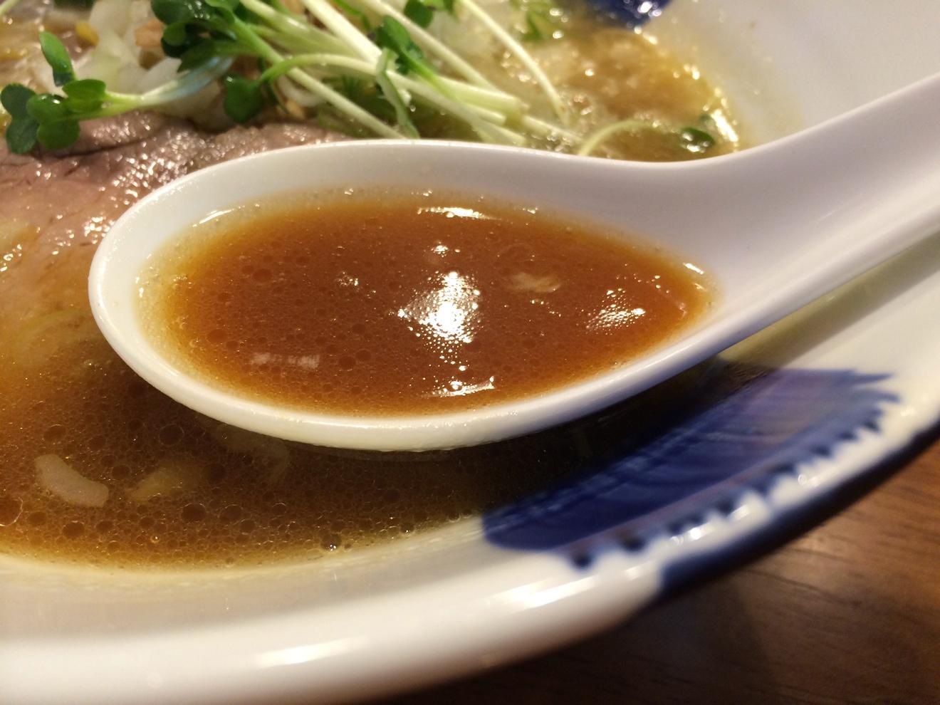 無化調なスープ