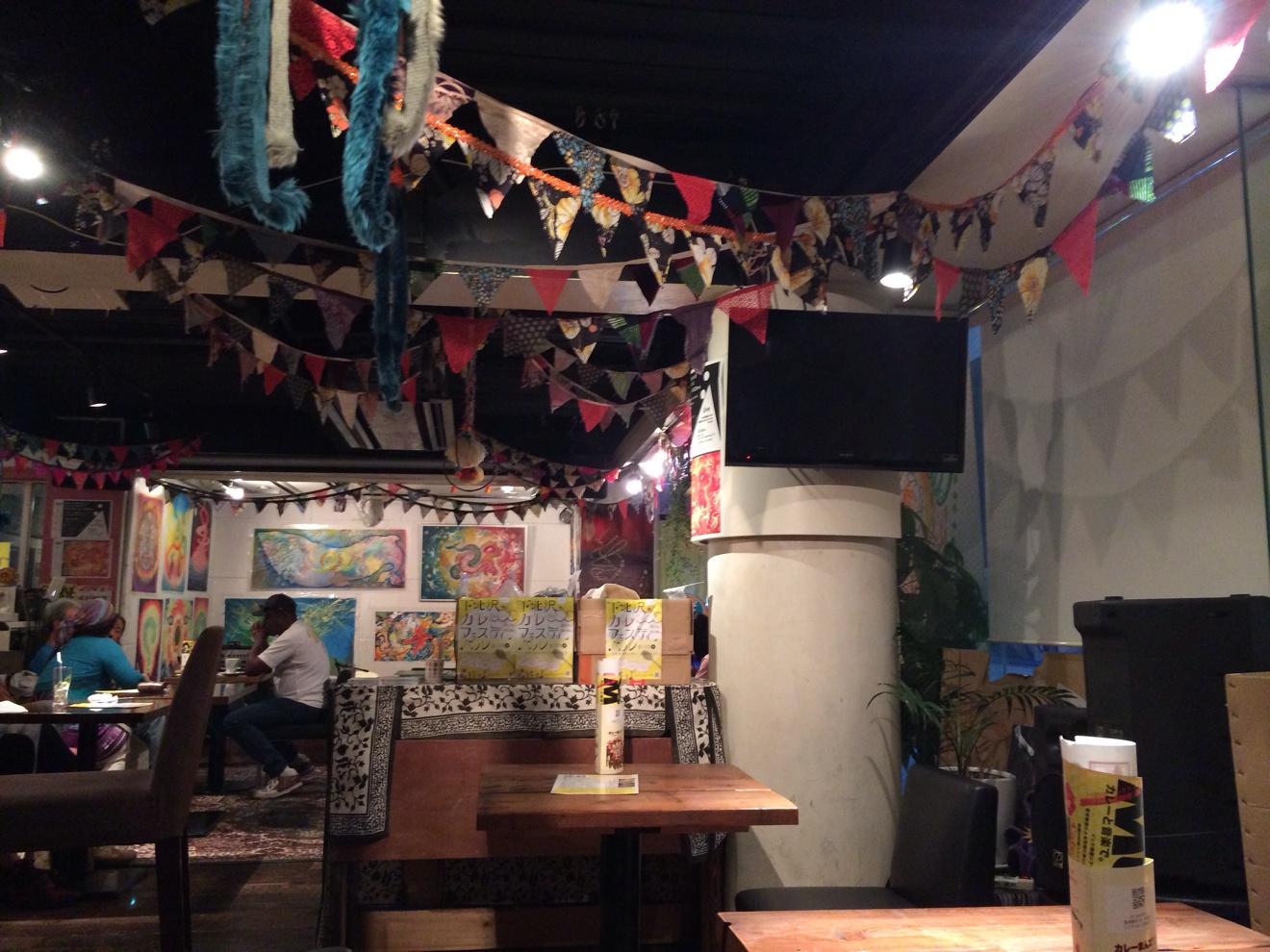 Cafe KIKC店内