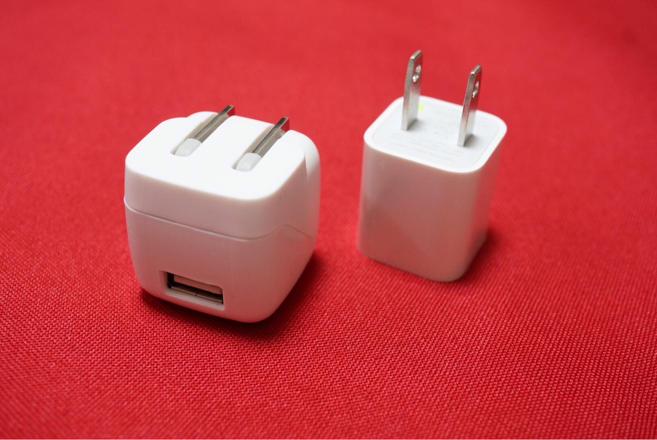 [Å] 即買い!!超小型USB-ACアダプタ「ACA-IP33W」でコンパクト充電!