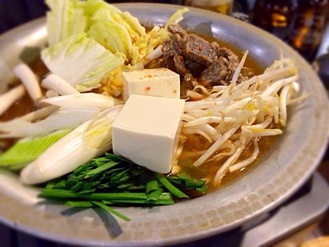 小松鍋(牛すじのチゲ)