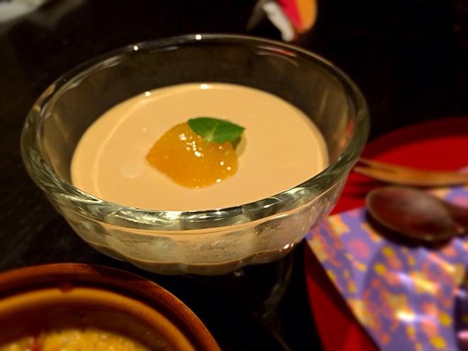 紅茶エスプレッソで作ったババロア