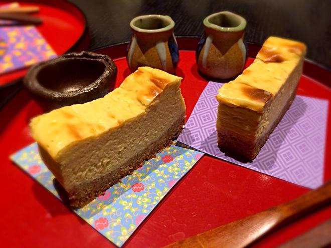 アボカドと豆乳のチーズケーキ
