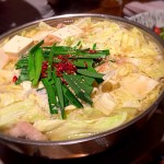 [Å] 福岡の紅月で本場もつ鍋、美味しいもつ鍋、ぷりぷりもつ鍋いただきました!!
