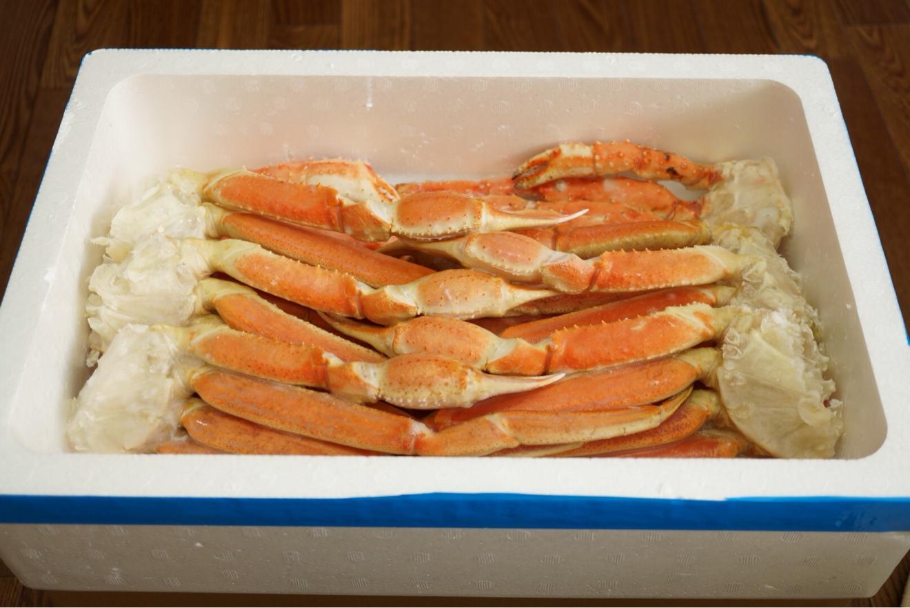 タラバ蟹とズワイ蟹
