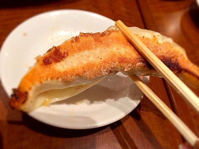 割り箸と餃子