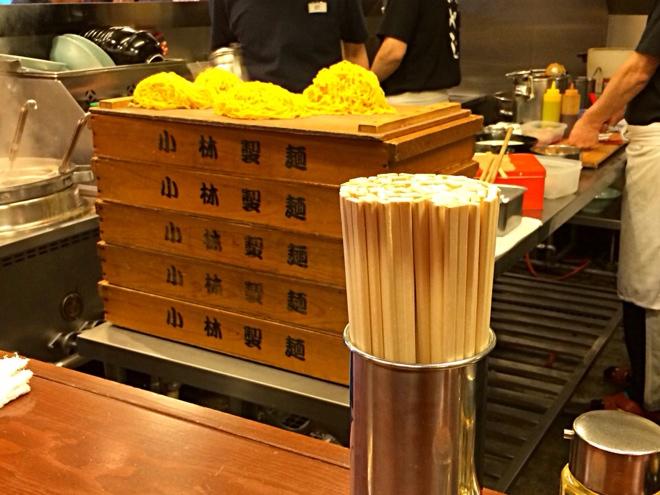 小林製麺のたまご麺