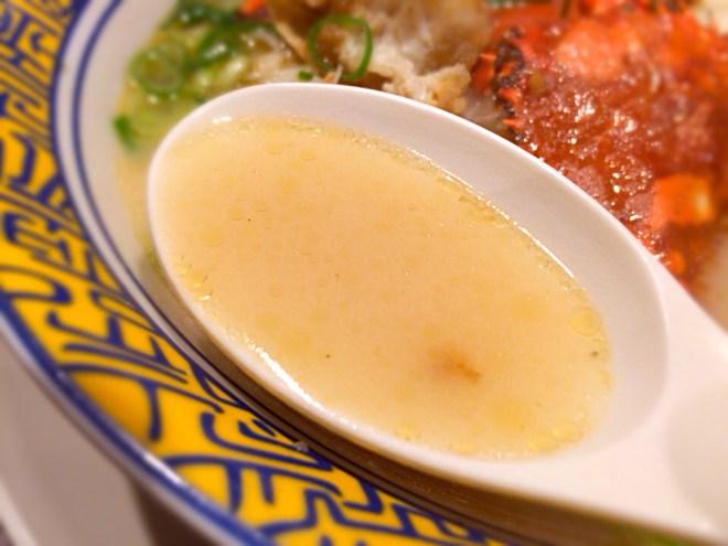 渡蟹のスープ