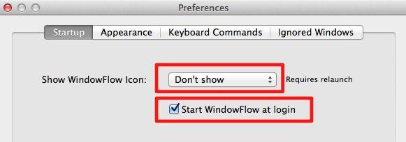 おすすめの「WindowFlow」の設定