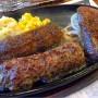 [Å] 肉好きが認める!ブロンコビリーの炭焼きがんこハンバーグが絶品
