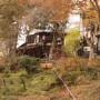 [Å] 岩手県 厳美渓で空飛ぶ団子を体験!11月中旬は紅葉も見頃