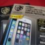 [Å] クリスタルアーマー0.2mm 世界最薄強化ガラス!!iPhoneに貼ってフリック快適!ラウンド型で指紋認証も完璧に!